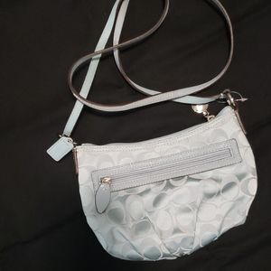 Signature Style Coach Crossbody Purse